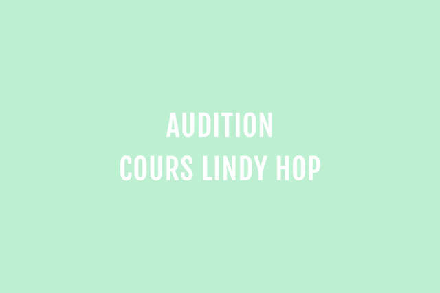 Auditions 2019-2020 #1